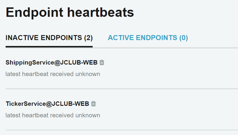 managing endpoint heartbeats in servicepulse nservicebus